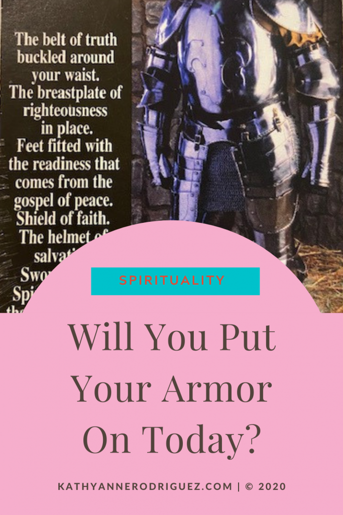 Have you put your armor on  image
